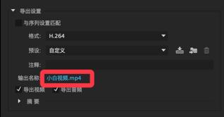 pr导出mp4格式选哪个